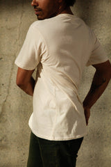 Harvest & Mill Men's Organic Crew Tee in Natural Harvest & Mill-13085407117375