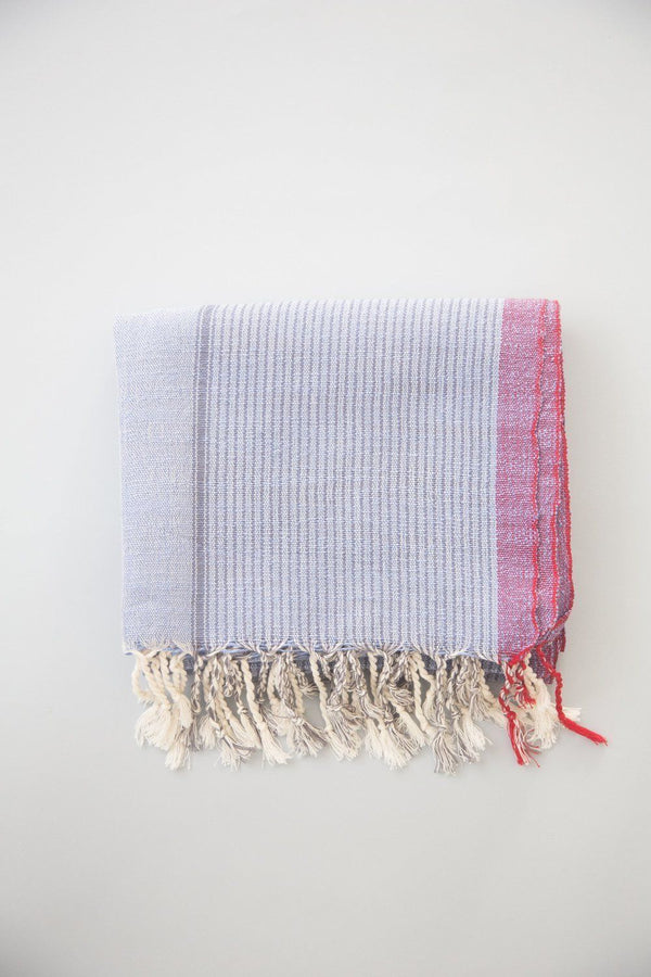 Home & Loft Denim Wash Tribeca Towel Home & Loft