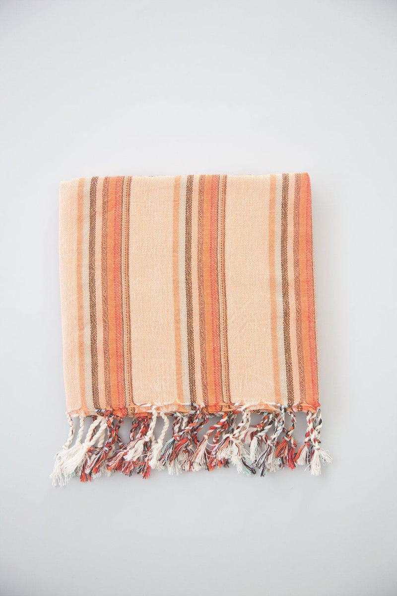 Home & Loft Flame Hudson Towel Towel Home & Loft