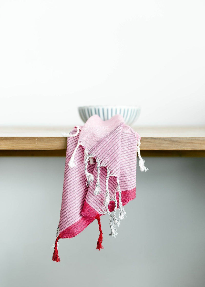 Home & Loft Gypsy Pink Tribeca Hand Towel Home & Loft