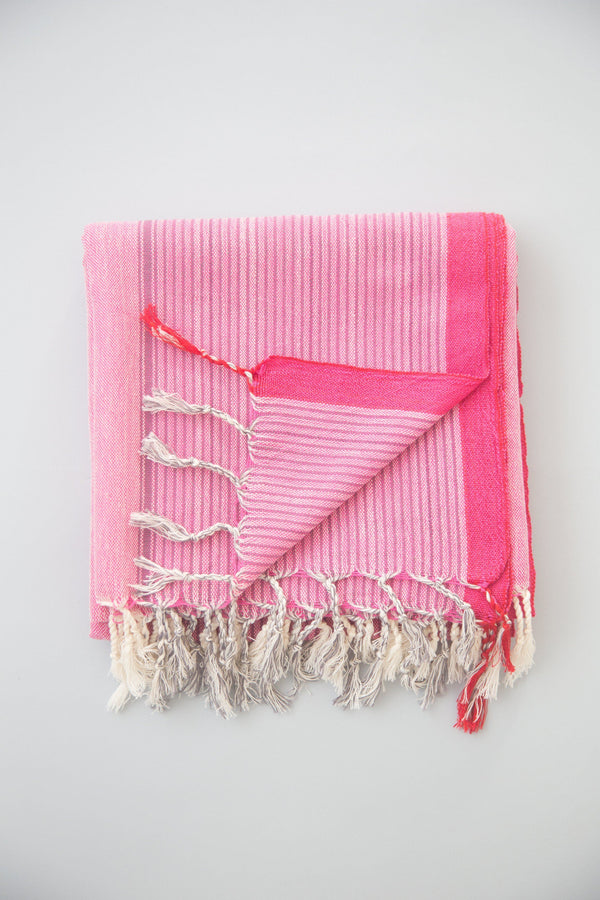 Home & Loft Gypsy Pink Tribeca Towel Towel Home & Loft