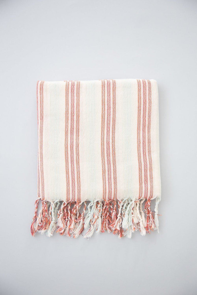 Home & Loft Peach Hudson Towel Home & Loft