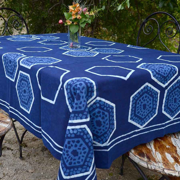 Honeycomb Organic Tablecloth Ichcha