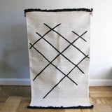 Ichcha Cross Hatch Dhurrie Rug Ichcha-5010291130431