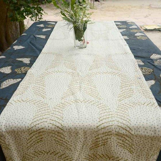 Ichcha Golden Dust Table Runner Ichcha