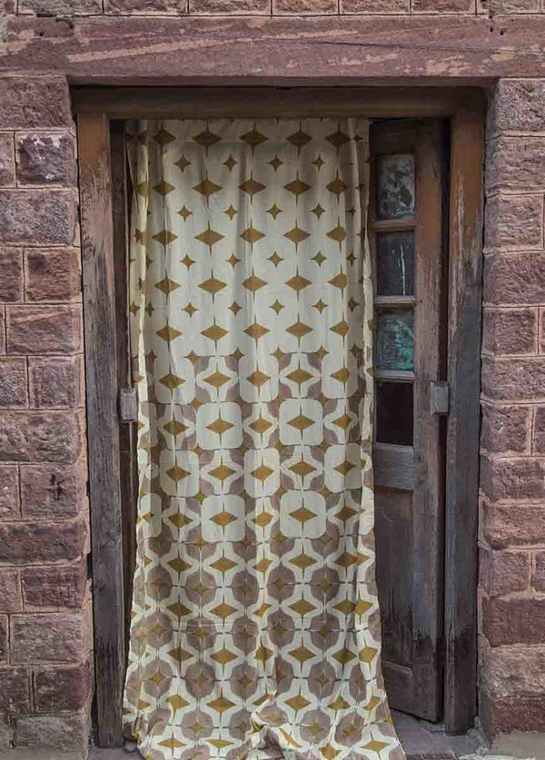 Ichcha Golden Escape Curtains Ichcha