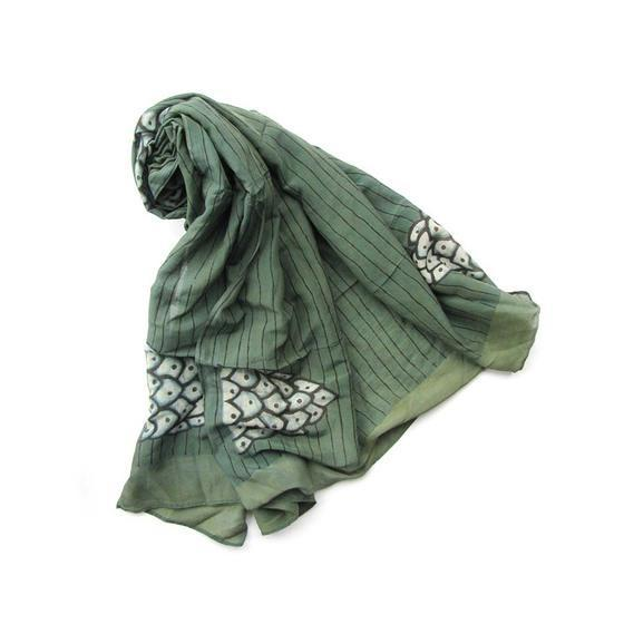 Ichcha Green Mountain Scarf Ichcha