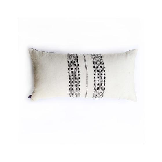 Ichcha Grey Oblong Pillow Cover Ichcha