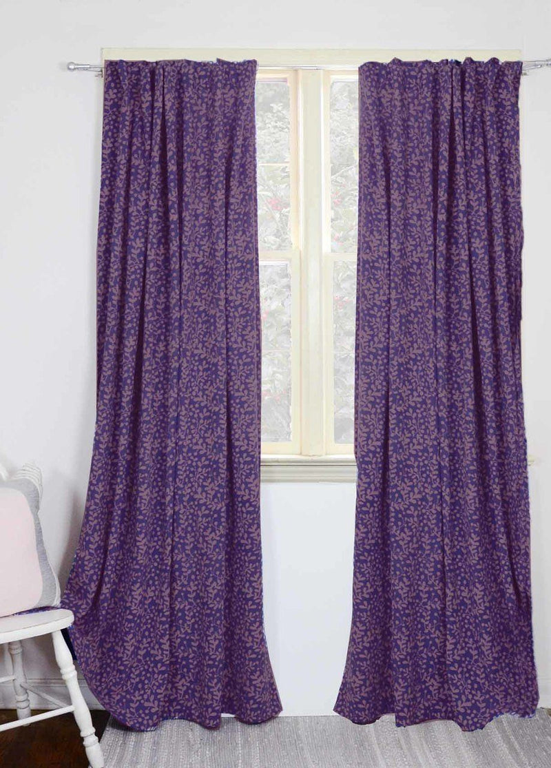 Ichcha Laila - Lavender Curtains Home Decor Ichcha