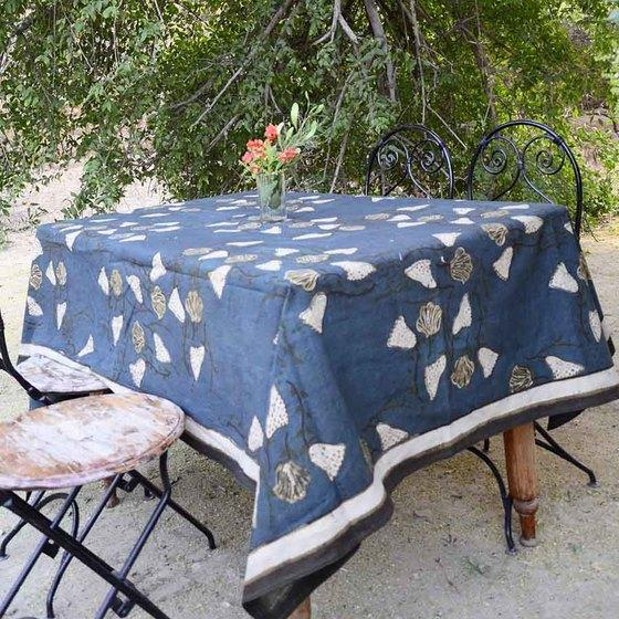 Ichcha Lana Forest Green Tablecloth Ichcha