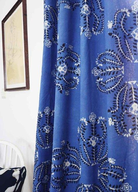 Ichcha Mumtaz - blue curtains Ichcha