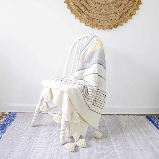 Ichcha Oasis - Organic Cotton Throw Ichcha