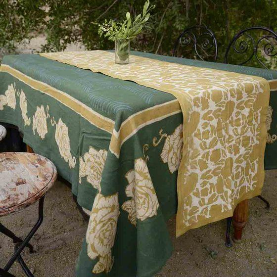 Ichcha Rose Tablecloth Ichcha