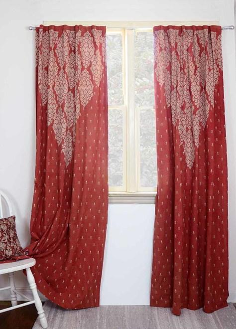 Ichcha Shanti - Red Curtains Ichcha