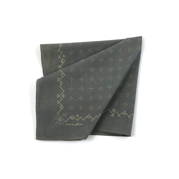 Jenni Earle Roam Free Bandana - Lichen Accessories Jenni Earle
