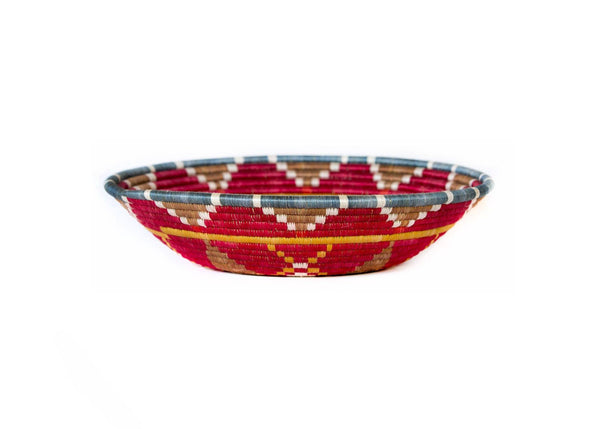 "KAZI 14"" Extra Large Earth Red Hope Basket Fruit Baskets KAZI"
