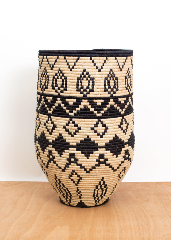 KAZI Aluna Large Floor Basket KAZI
