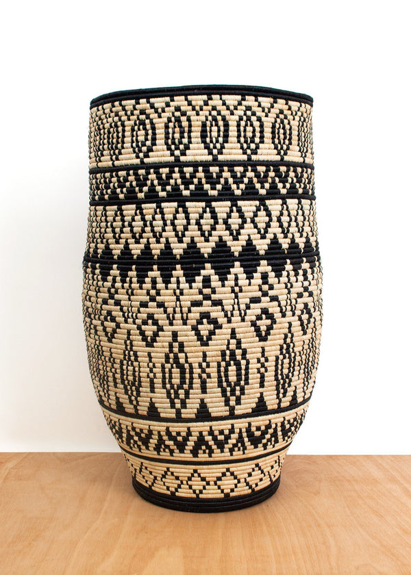 KAZI Aluna Medium Floor Basket KAZI