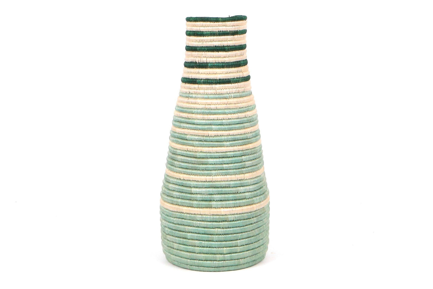 KAZI Bayou Striped Tall Vase KAZI