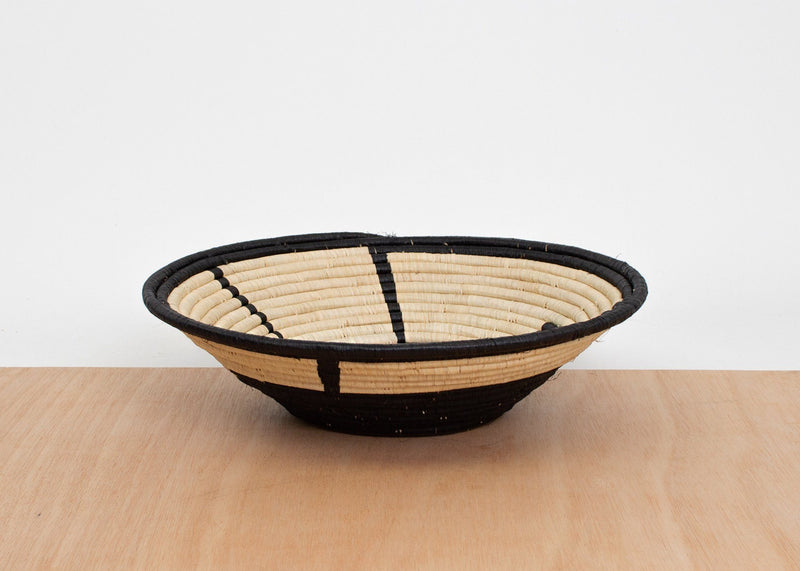 KAZI Black Totemic Extra Large Bowl KAZI