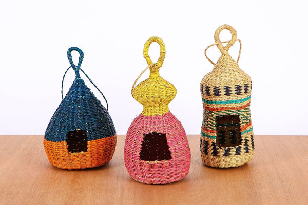 KAZI Boho Birdie Fan's Birdhouse Bird Houses KAZI