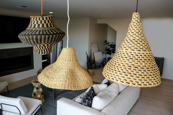 KAZI Dashed Black Grass Lamp Pendant Lamp Pendants KAZI