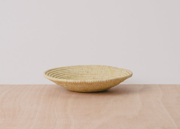 KAZI Heathered Sun Large Raffia Basket KAZI