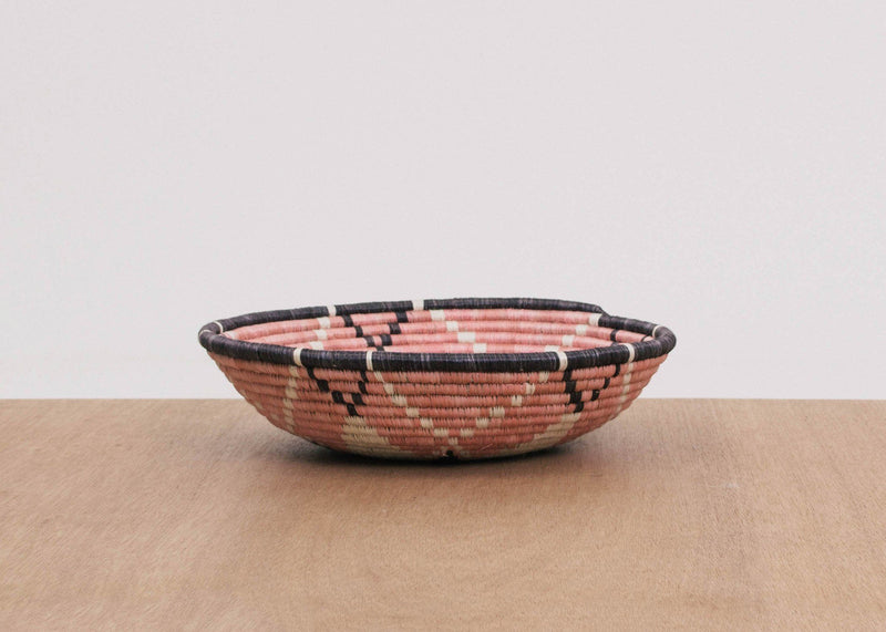 KAZI Large Navy + Pale Blush Bowl KAZI