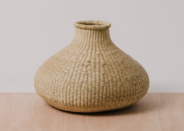 KAZI Medium Natural Grass Bud Vase KAZI
