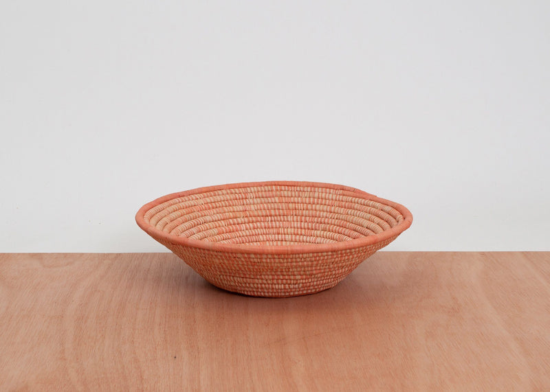 KAZI Peach Spotted Large Bowl KAZI