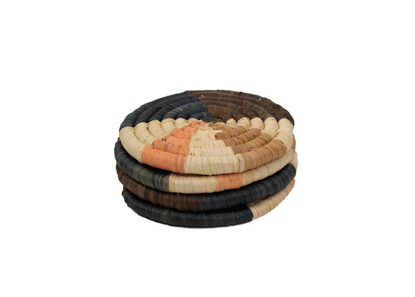 KAZI Peach Wheel Coasters KAZI