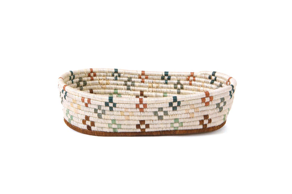 KAZI Shades of Sand Oval Basket KAZI
