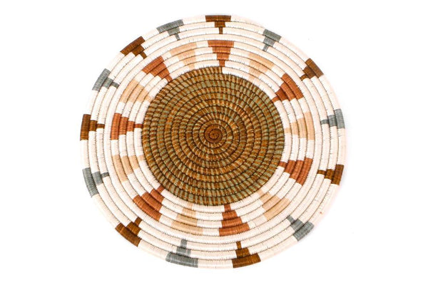 KAZI Shades of Sand Placemat + Wall Hanging KAZI