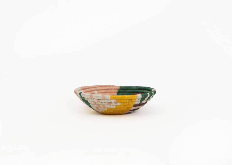 KAZI Small Dusty Peach + Fir Biko Bowl KAZI
