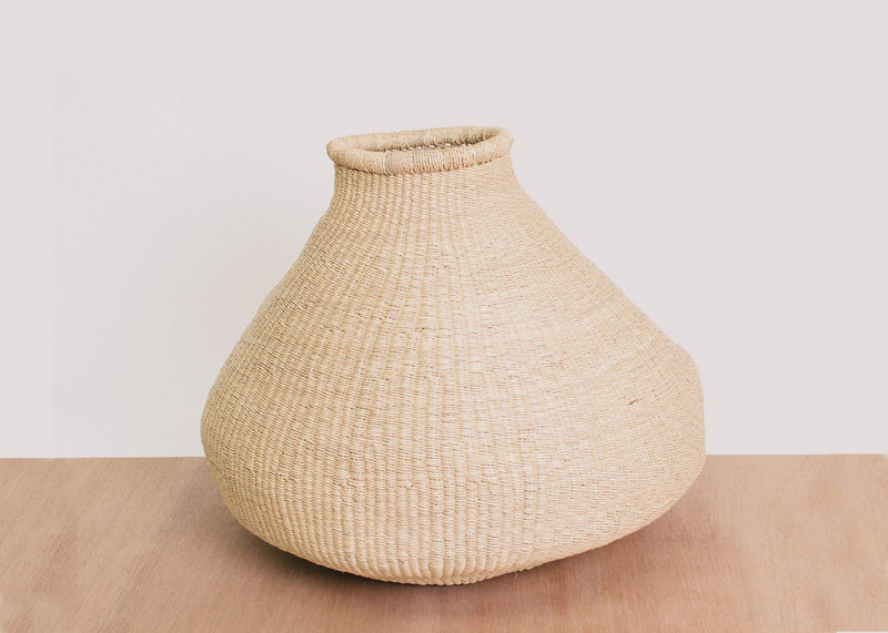KAZI Small Natural Grass Bud Vase KAZI