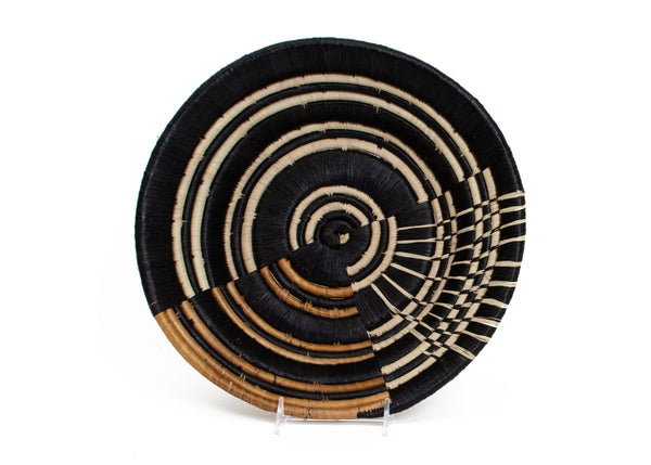 KAZI Striped Banana Bark Extra Large Bowl KAZI
