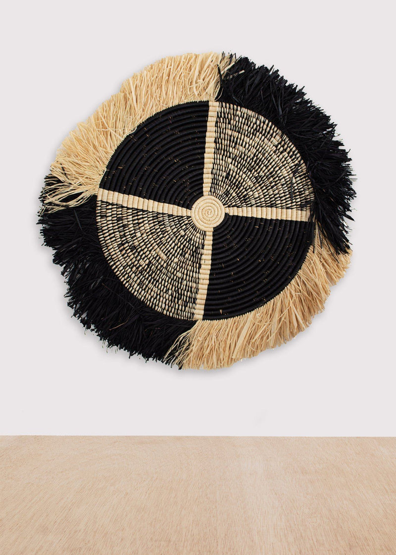 KAZI Vita Fringed Black Disc KAZI