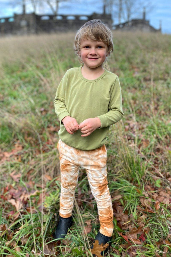 Kids' Tie Dye Organic Cotton Jogger - Amber Pant North of West