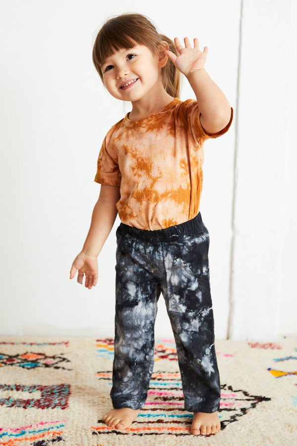 Kids' Tie Dye Organic Cotton Tee - Amber Tee North of West