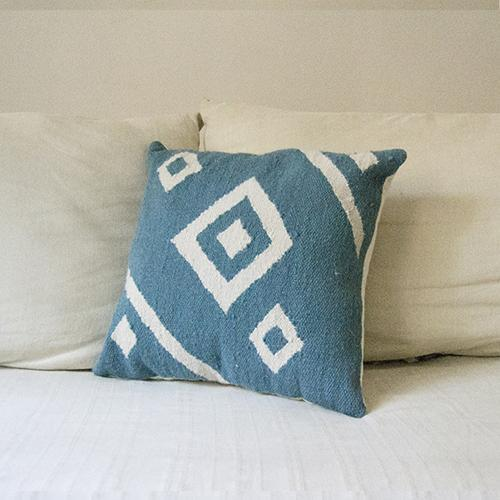 Kiliim Blue Nile Cushions (Set of 2) Cushions Kiliim