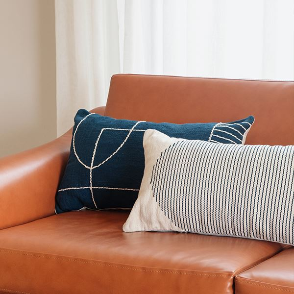 Kiliim BLUE TEMPLE CUSHION Cushions Kiliim