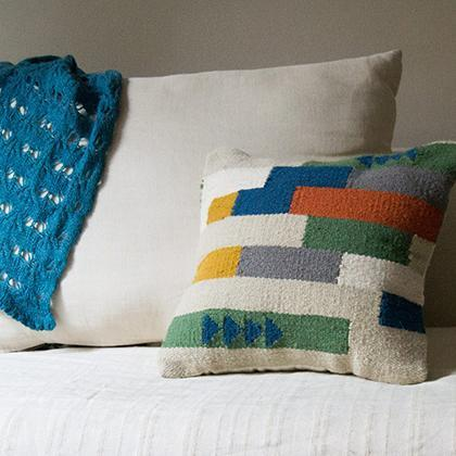 Kiliim El Delta Cushions (Set of 2) Cushions Kiliim