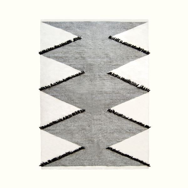 Kiliim FRILLED DIAMONDS RUG Rugs Kiliim