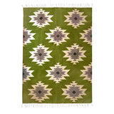 Kiliim Green Medallions Rug Home Decor Made Trade -15198885380159
