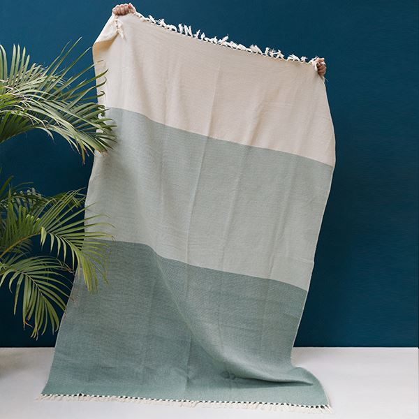 Kiliim GREENS THROW Throws Kiliim