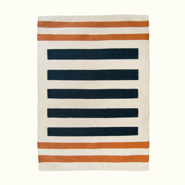 Kiliim NAUTICAL BATH MAT Bath Mats Kiliim
