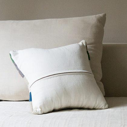Kiliim Pastel Tiles Cushions (Set of 2) Cushions Kiliim