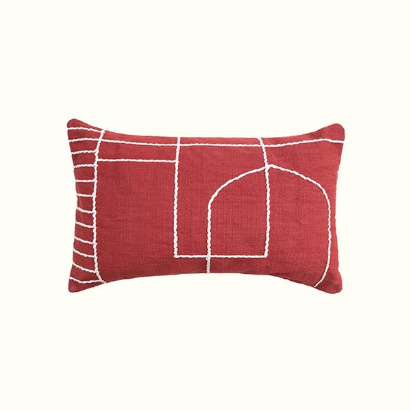 Kiliim SOLID TEMPLE CUSHION Cushions Kiliim