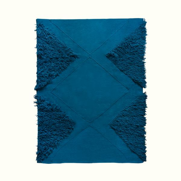 Kiliim TUFTED TRIANGLES RUG Rugs Kiliim