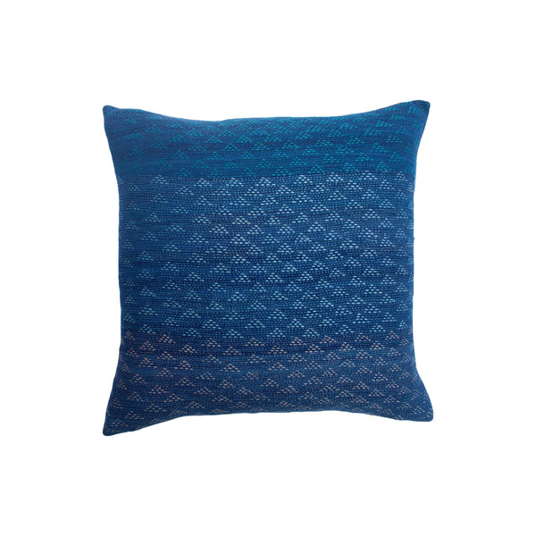 Leah Singh Eva Indigo and Peach Pillow Pillow Leah Singh